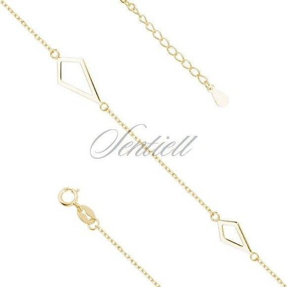 Silver (925) bracelet gold-plated