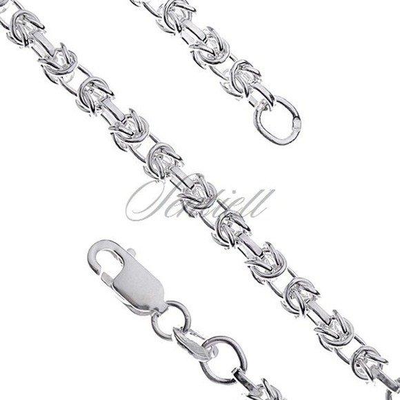 Silver (925) byzantine chain necklace Ø 060