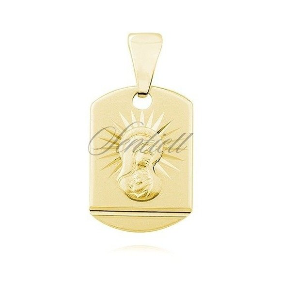 Silver (925) gold-plated pendant Blessed Virgin Mary Madonna