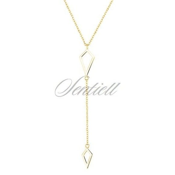 Silver (925) necklace gold-plated