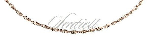 Silver (925) twisted chain bracelet