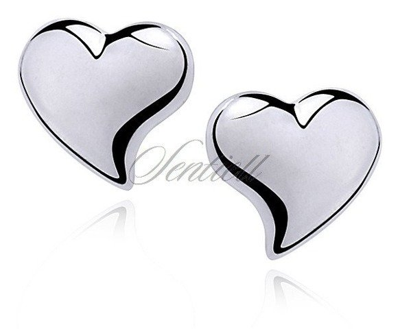 Srebrne kolczyki pr.925 serce