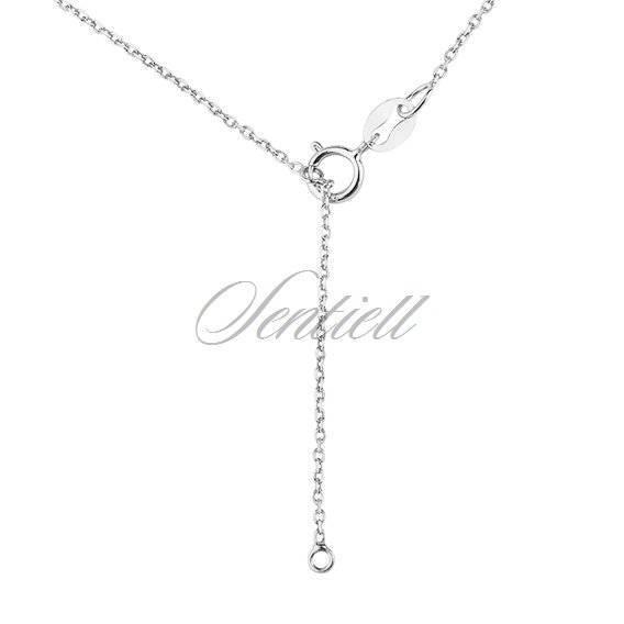 Srebrny naszyjnik pr.925 - kółeczko
