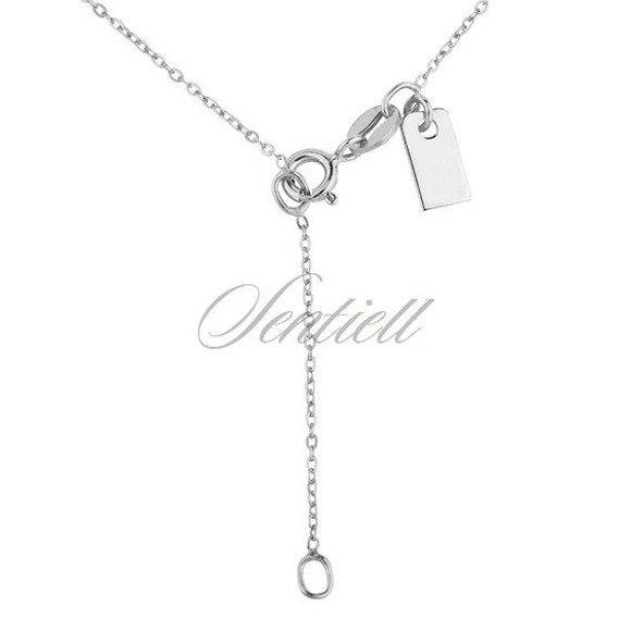 Srebrny naszyjnik pr.925 z trzema krzyżykami
