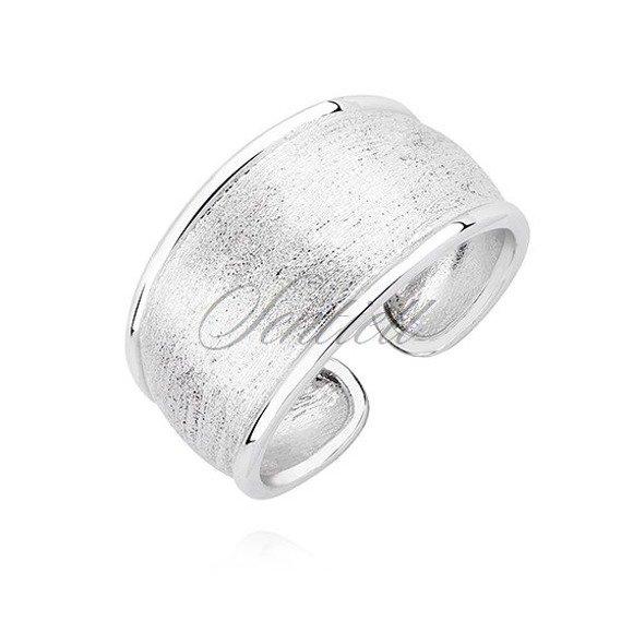 Srebrny pierścionek pr.925 diamentowany